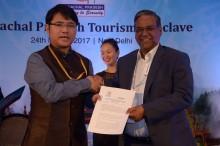 Shri Joram Beda, Tourism Secretary, Govt of Arunachal Pradesh & Pramod S...