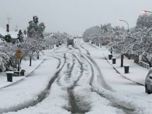 US Snowstrom
